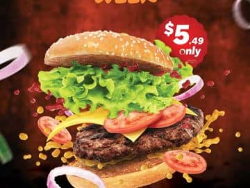 Burger Week Fast Food Free Flyer Template