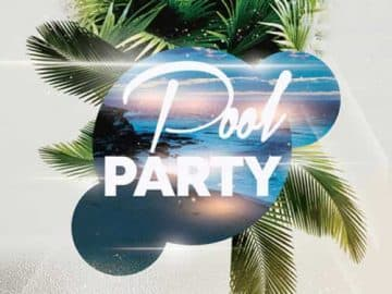 Pool Party Free Flyer PSD Template