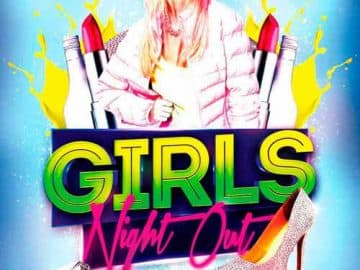 Girls Night Out Free Flyer PSD Template