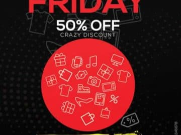 Black Friday Super Sale Free Flyer Template