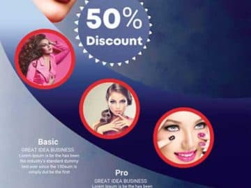 Makeup Beauty Studio Free Flyer Template