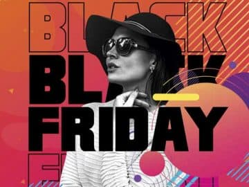Black Friday Autumn Sale Free Flyer Template