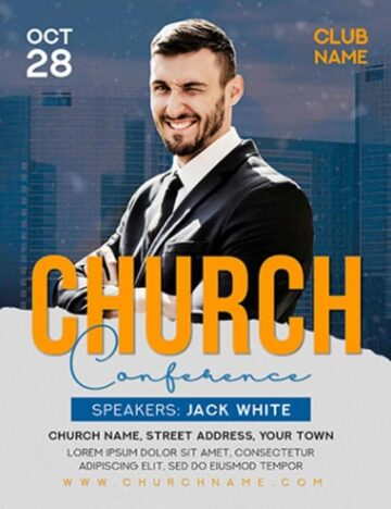 Church Event Free Flyer Template
