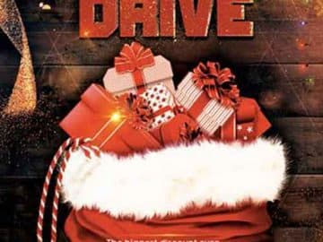 Christmas Toy Drive Free Flyer Template