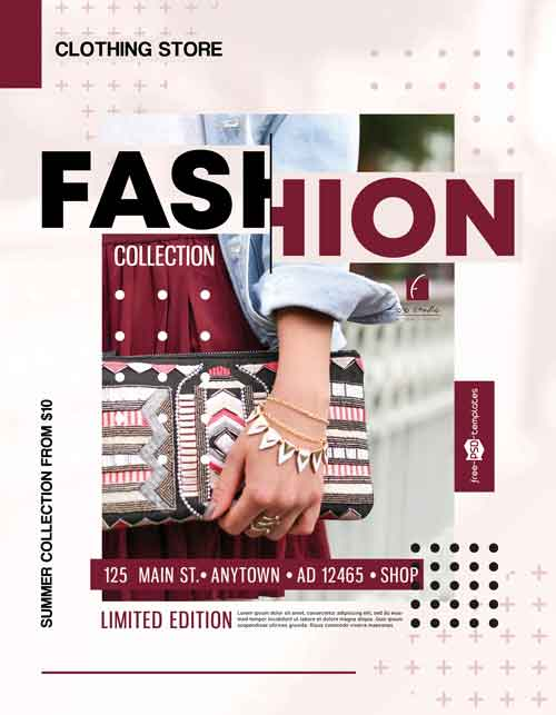 Fashion Sale Free Flyer Template