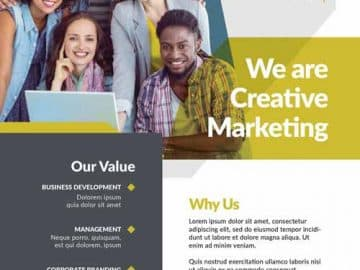Free Marketing Business Flyer Template