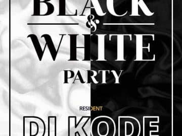 Exclusive Black and White Free Flyer Template