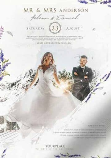 Wedding Agency Free Flyer Template