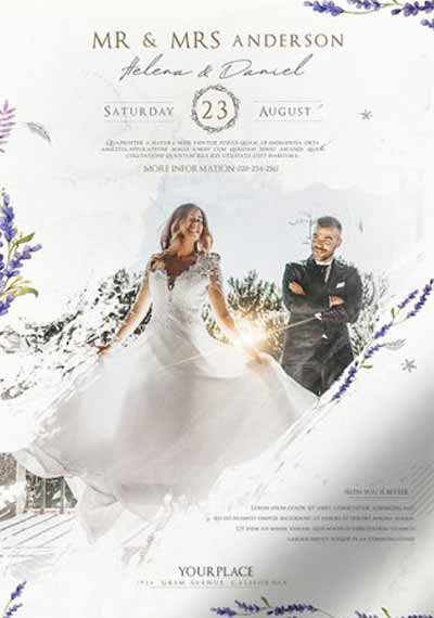 Wedding Agency Free Flyer Template