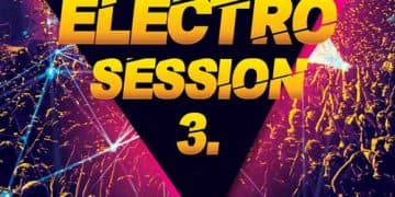 Electro Club Session Vol. 3 Free Flyer Template