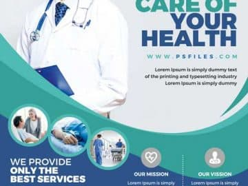 Hospital Health Care Free Flyer Template