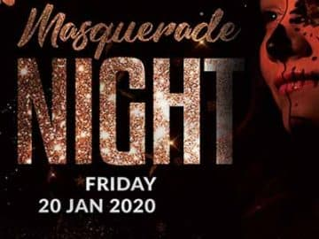 Masquerade Night Party Free Flyer Template