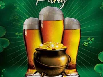 Saint Patrick's Party Free Flyer Template