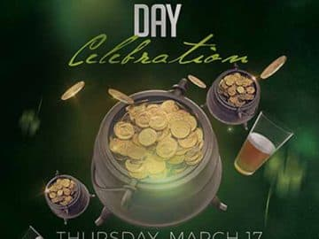 St.Patrick's Day Party Free Flyer Template