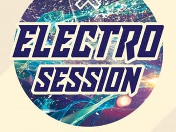 Exclusive Electro Session Free Flyer Template