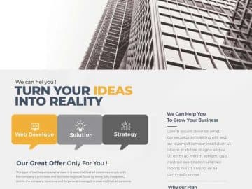 Free Success Marketing Flyer Template