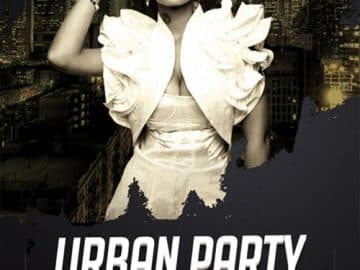 Urban Night Club Free Flyer Template