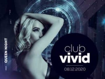 Vivid Club Party Free Flyer Template