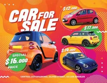 Free Car Sale Flyer Template