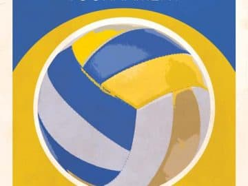 Free Volleyball Flyer Template