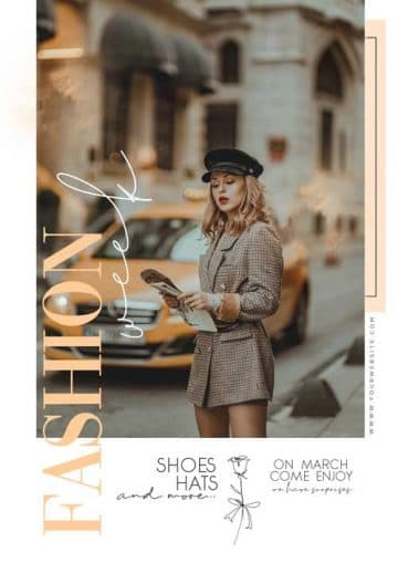 Modern Fashion Free PSD Flyer Template