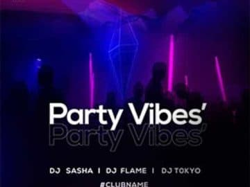 Party Vibes Free PSD Insta Template