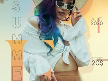 Summer Fashion Free PSD Flyer Template