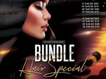 Hair Special Free Flyer and Instagram Template