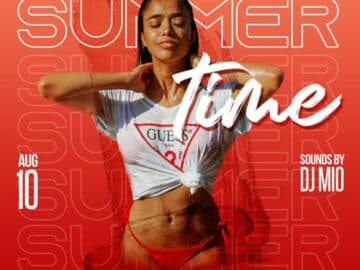 Summer Time Party Free PSD Insta Template