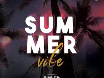 Summer Time Vibe Free Flyer Template