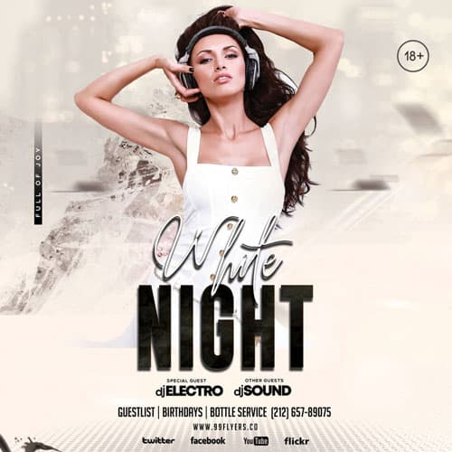 Free Music Night Party Instagram Template