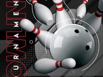 Free Bowling Tournament Flyer Template
