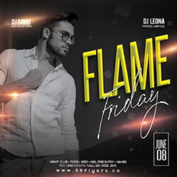 Free Friday Event Instagram Template