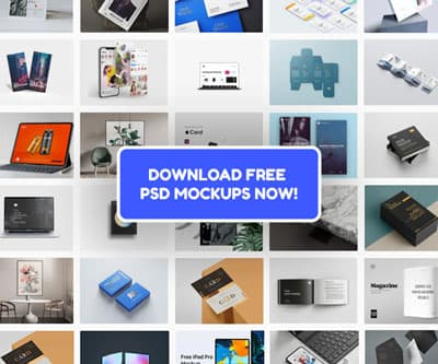 Free PSD Mockup Download on Freebiefy