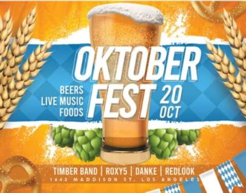 Oktoberfest Free Party Flyer Template