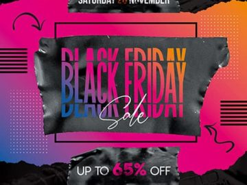 Free Black Friday Flyer PSD Template