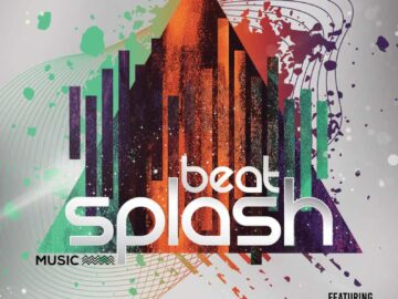 Beat Splash Party Free PSD Flyer Template