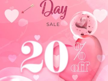 Valentine's Day Sale Free Flyer Template