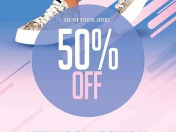 Fashion Store Free Flyer Template
