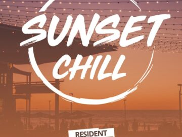 Free Sunset Chill PSD Flyer Template