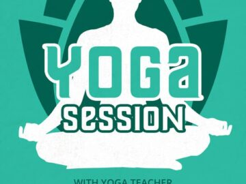 Free Yoga Session Flyer Template