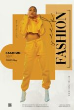 Free Fashion Collection Flyer Template