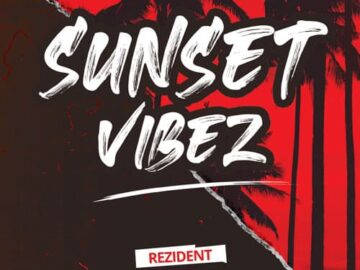 Sunset Vibes Free PSD Flyer Template