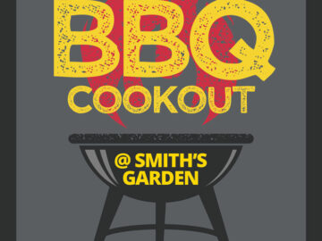 BBQ Cookout Free PSD Flyer Template