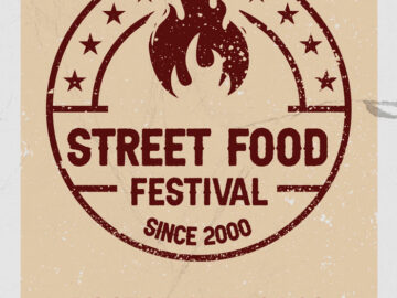 Free Streetfood Festival Flyer Template